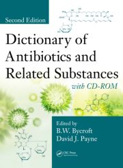 Dictionary of Antibiotics and Related Substances with CD-ROM