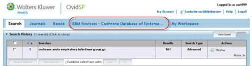 EBM Reviews-Cochrane Groups