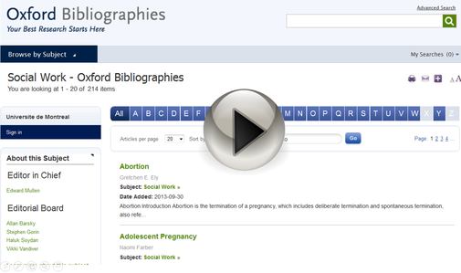 Image Oxford bibliographies