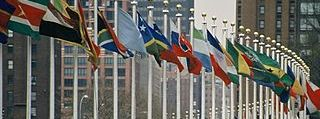 Drapeaux, Nations Unies - New York